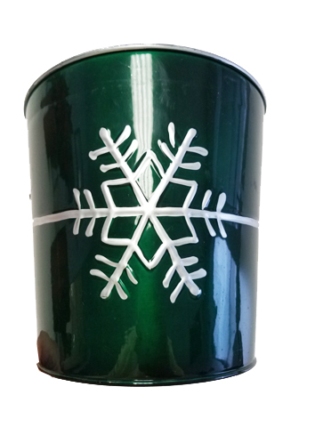 Green Snowflake Container Image