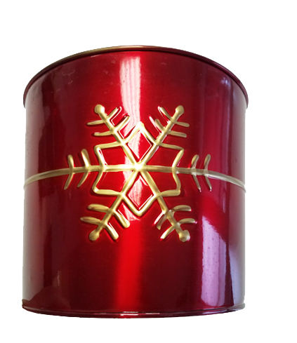 Red Snowflake Container Image