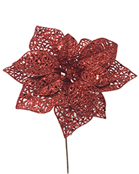 Glitter Wire Mesh Large pomegranate Pick Image