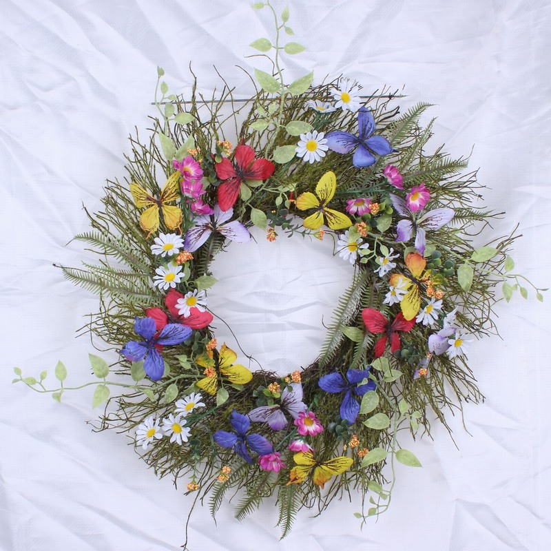 Multicolor Easter Wreath Image