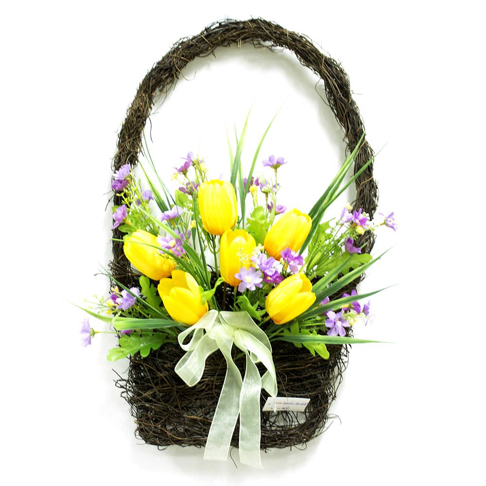 Easter Flower Basket Image