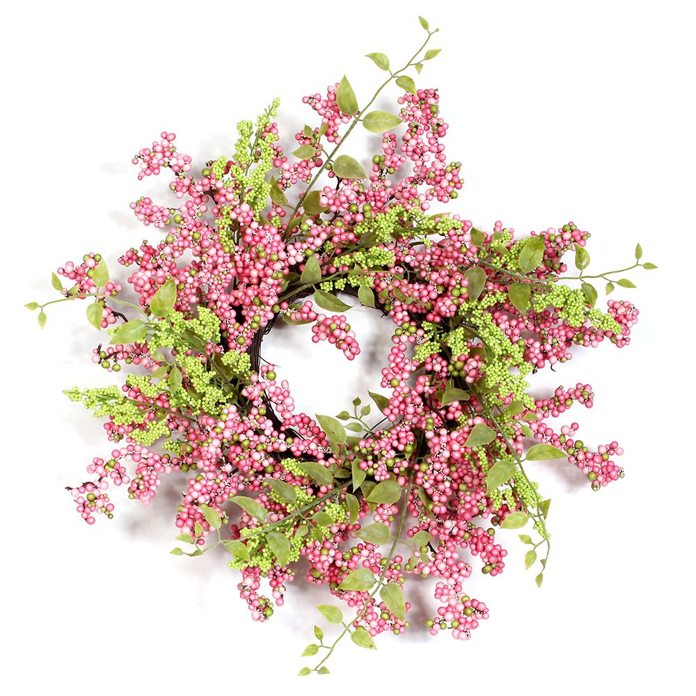 Pink Easter Wreath Image
