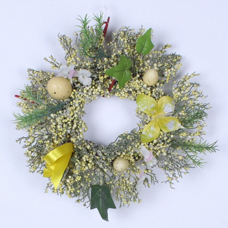 Beautiful Easter Wreath Image