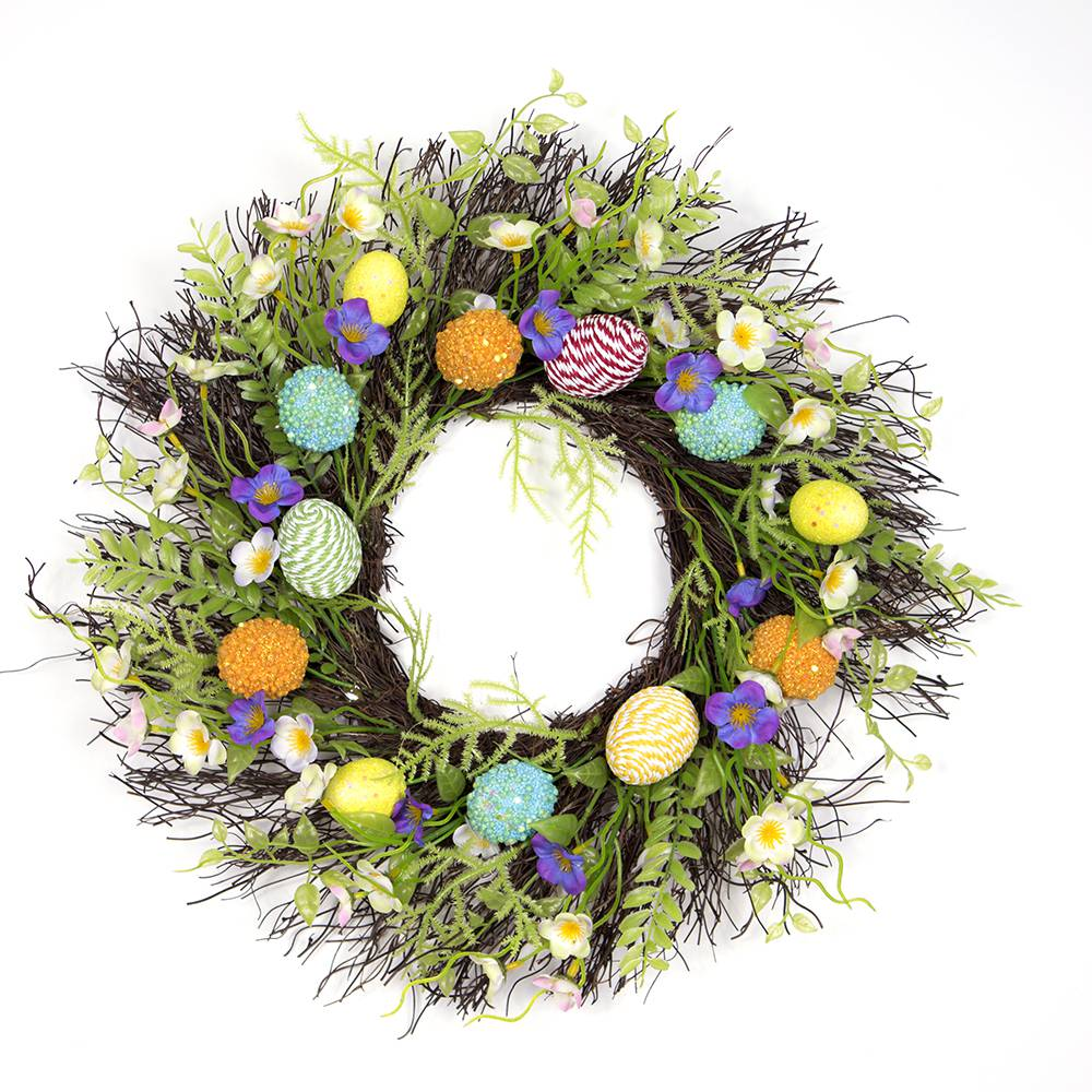 Fun Easter Wreath Image