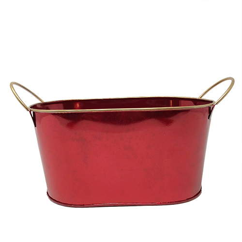 Red Oval Container Image